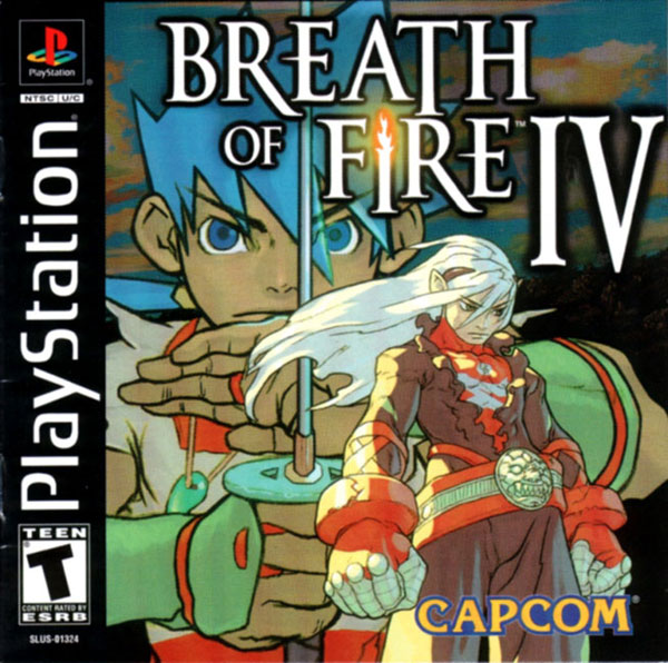 Breath of Fire IV [U] Front Cover